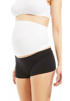 Adjustable maternity belly band