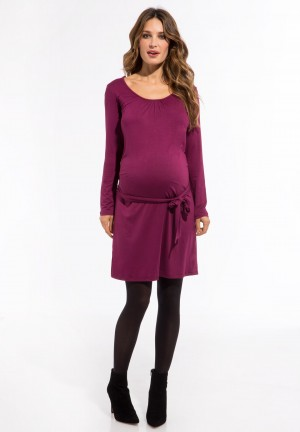 TERRY ls - Maternity dress