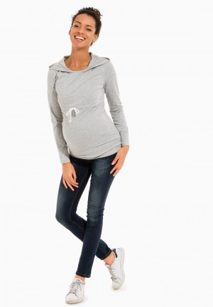 CHARLIE LS - Maternity sweater