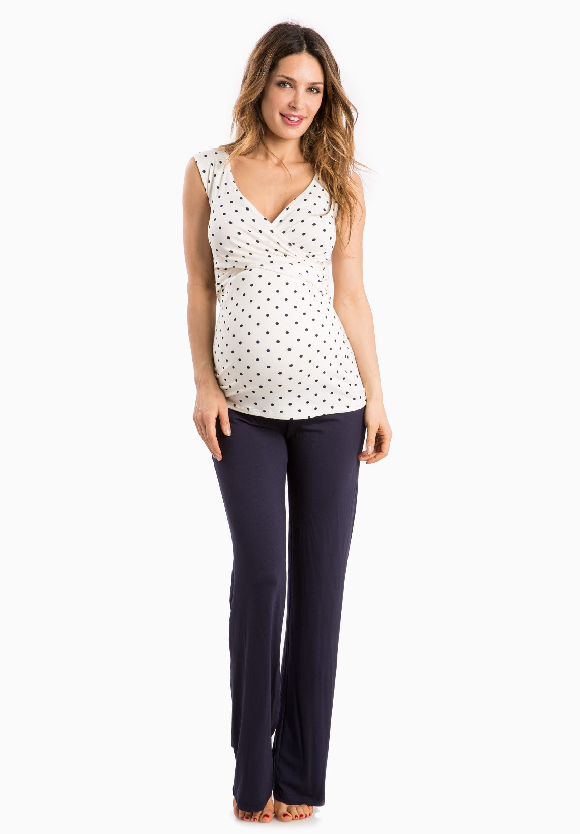 Nursing pajamas trendy selections at affordable prices envie nursing flore tank maternity nightwear ombrellifo Image collections