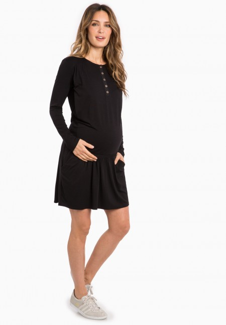 DELICE ls - Maternity dress - Envie de Fraise