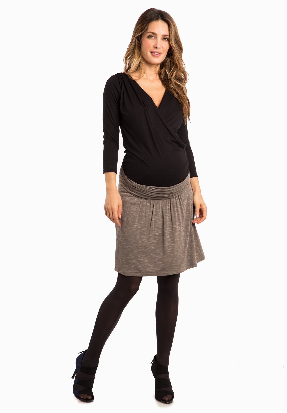 Shop our selection of maternity skirts at Motherhood Maternity! We carry short, knee length, and long maternity skirts. Motherhood Maternity.