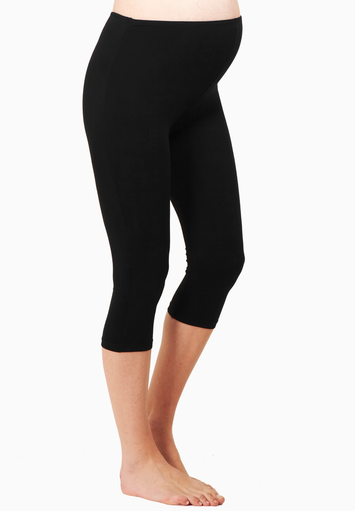 Black over the belly maternity leggings you can use throughout your entire pregnancy. Dress it up or down, or just lounge around in them‰Û_Totally up to you.
