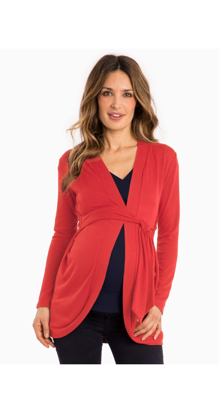 Stay on trend with maternity sweaters and cardigans in open front cascade styles, soft cashmere, cable knits, and more! A Pea in the Pod Maternity.