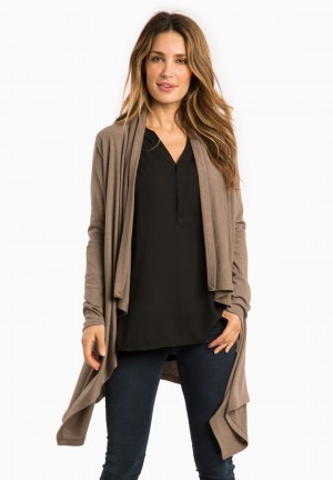 COLINECHALE ls - Maternity cardigan