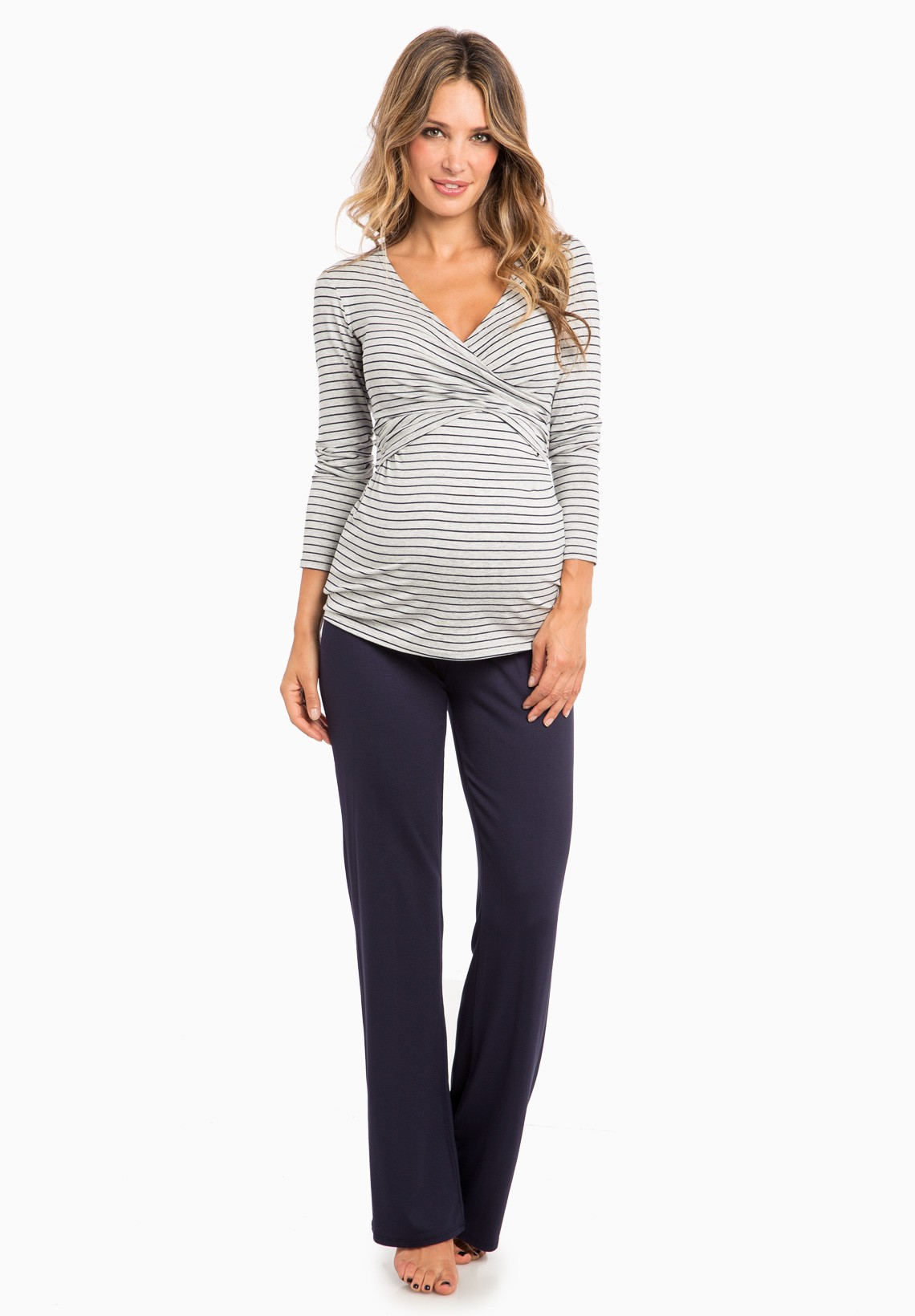 Maternity pajamas trendy selections at affordable prices envie nursing flore ls maternity nightwear ombrellifo Image collections