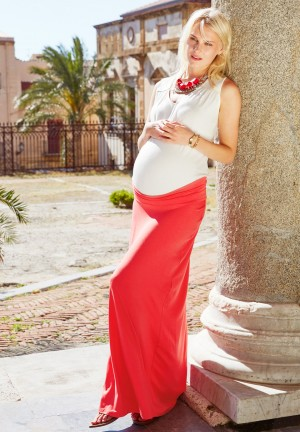 MARJORIE - Maternity skirt