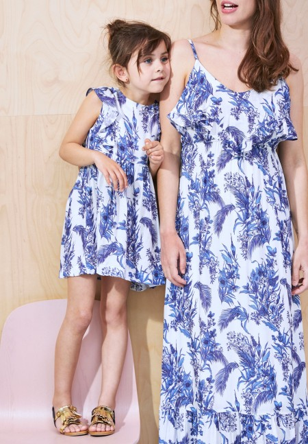 V tements assortis parents enfants the family collection envie de fraise - Robe mere fille ...