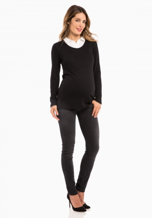 ARMELLE LS - Maternity sweater