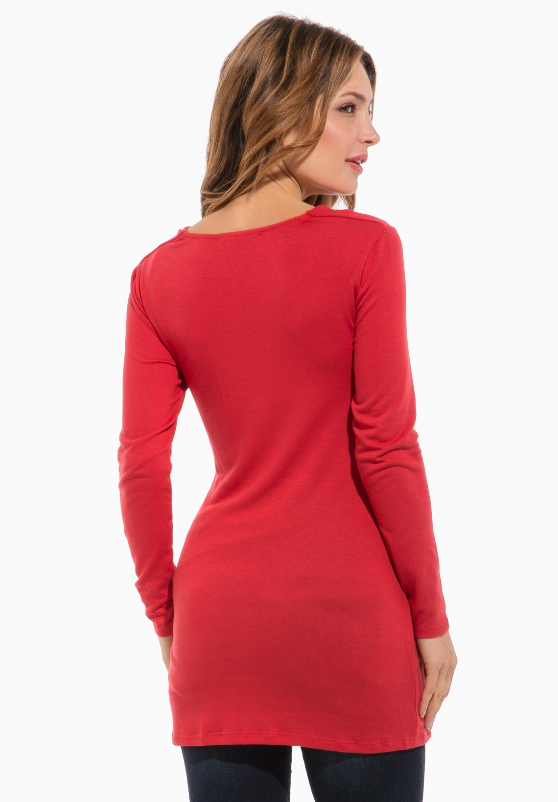 Maternity tunics both show off your growing baby bump and keep you covered. Maternity tunic styles Maternity tunics are available in fitted tops that hug your baby .