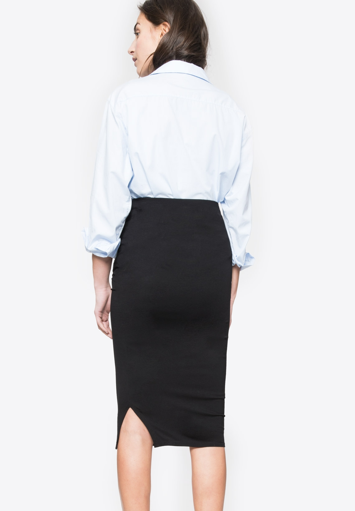 4678be07eb CINDY - Maternity skirt with over belly band - Envie de Fraise ...