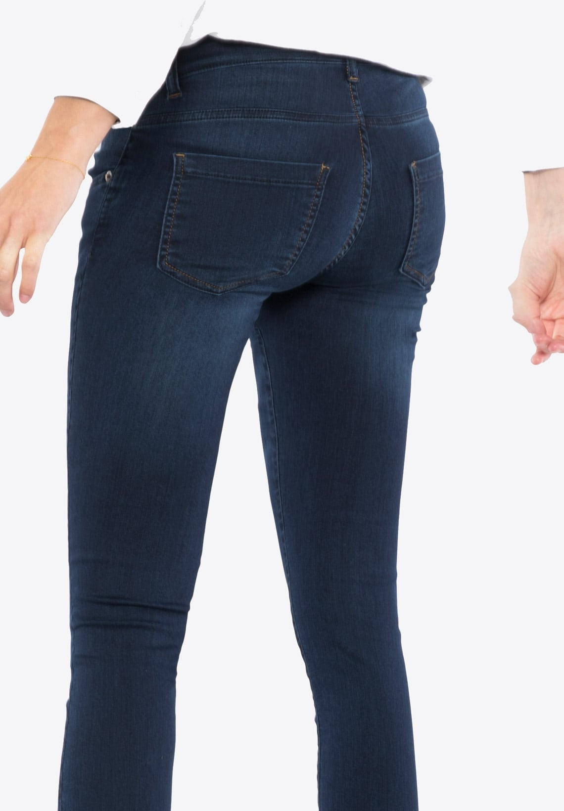 b8073ce91096b Bootcut Maternity Jeans With Over Belly Band Garry Deluxe Denim