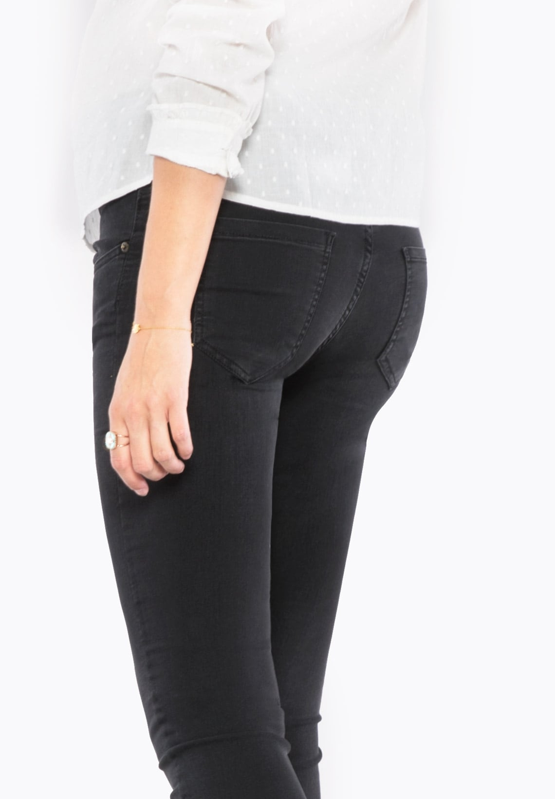 ecf64e358ef0d GARRY DELUXE - Bootcut maternity jeans with over belly band - Envie de  Fraise ...