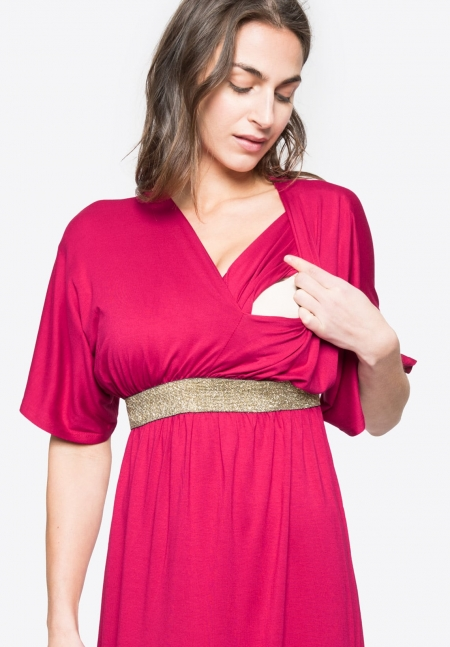 FELICINEOR - Maternity dress - Envie de Fraise