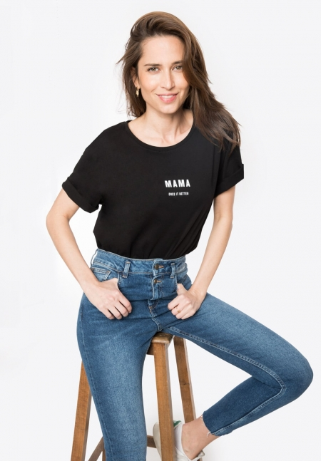 MAMA DOES IT BETTER - Tee-shirt coton Bio - Envie de Fraise