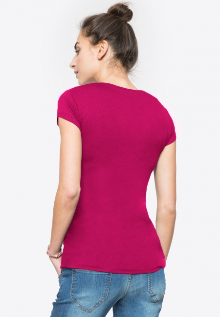 FIONA - Short-sleeved maternity & nursing top - Envie de Fraise