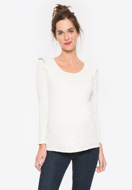CASSIE ls - Light maternity sweater  - Envie de Fraise