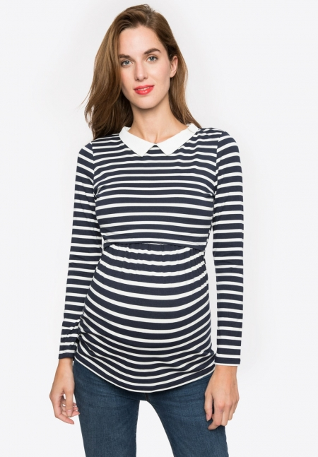 CLOTHILDE ls - Maternity top - Envie de Fraise