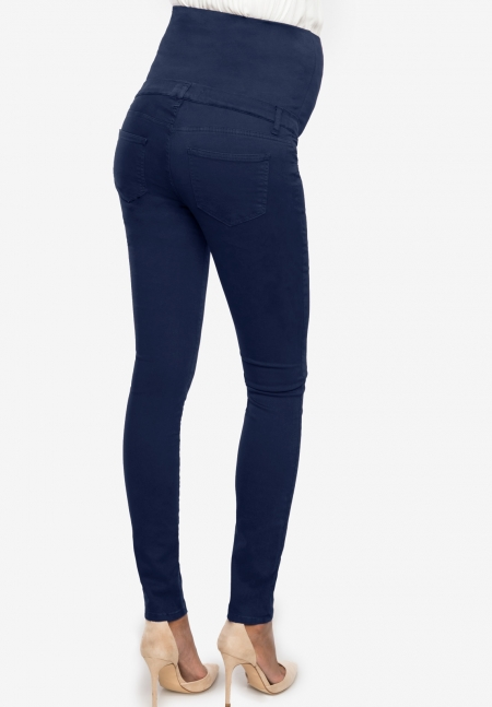 NEO SEAMLESS - Maternity trousers with over seamless belly band - Envie de Fraise