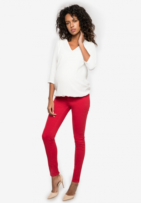 NEO - Maternity trousers with over belly band - Envie de Fraise