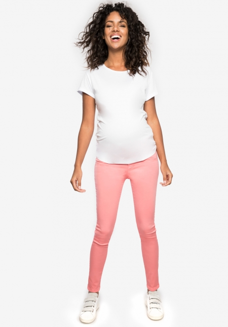 NEO - Maternity pants with over belly band - Envie de Fraise