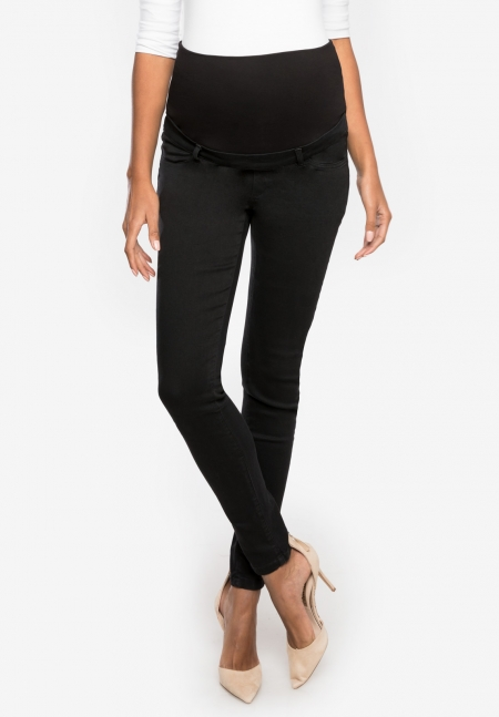 CLINT - Slim maternity jeans with over belly band - Envie de Fraise