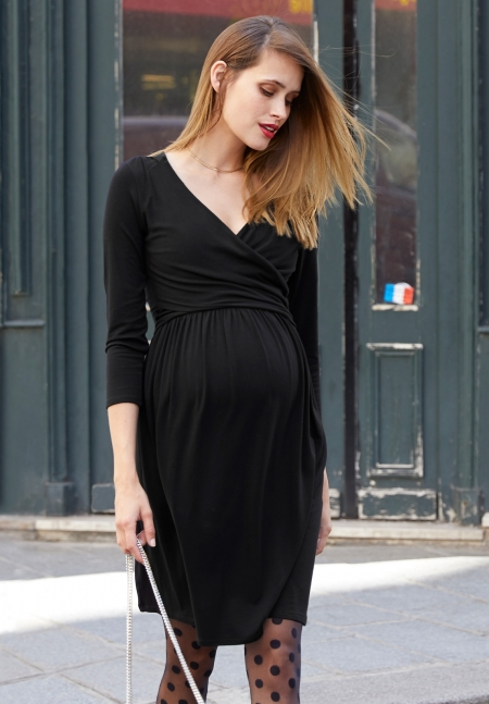DIVINE LS - Maternity dress - Envie de Fraise