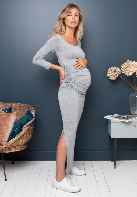 DONNA ls - Long maternity dress - Envie de Fraise
